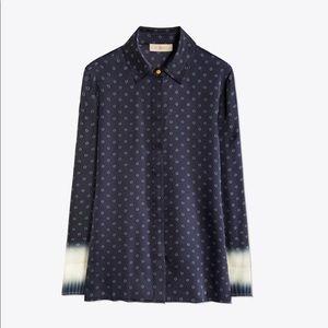 Tory Burch satin shirt